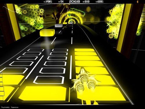 Audiosurf Screenshot 1