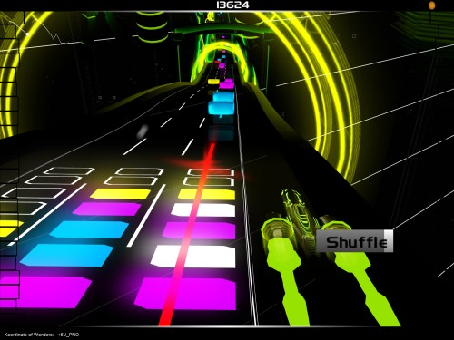 Audiosurf Shot 3
