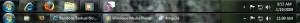 Top: Default Taskbar, Bottom: Classic View
