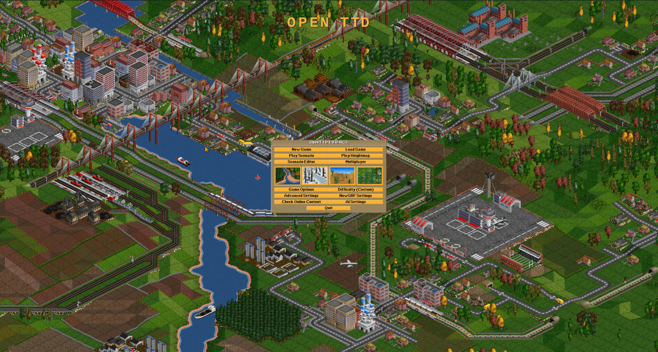 Open transport tycoon deluxe windows 7