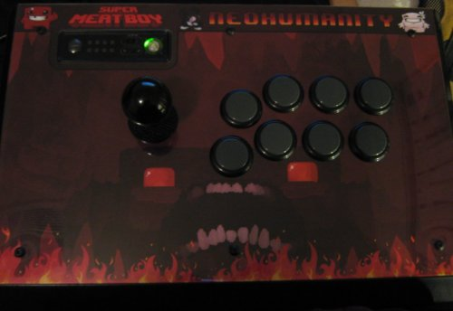 Super Meat Boy Arcade Stick